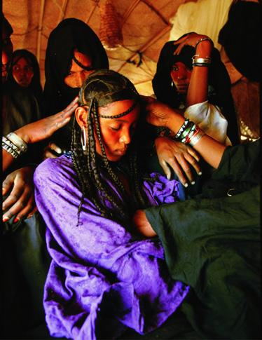 Preparing a Tuareg Bride by Carol Beckwith and Angela Fisher