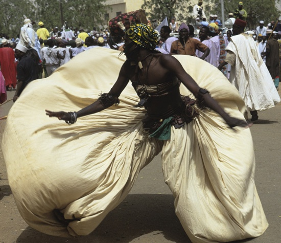 Gardi Hausa Dancers by Carol Beckwith and Angela Fisher