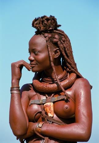 Himba Wedding Guest by Carol Beckwith and Angela Fisher