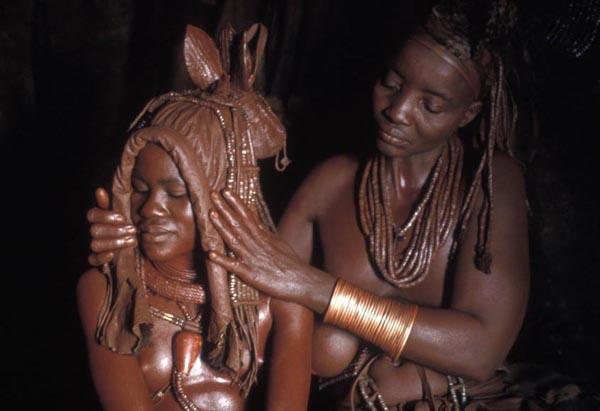 Himba Mother & Bride by Carol Beckwith and Angela Fisher