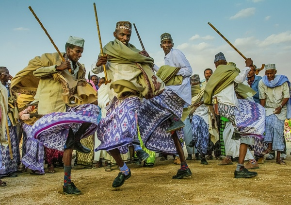 Somali Wedding Dancers, Somaliand by Carol Beckwith and Angela Fisher