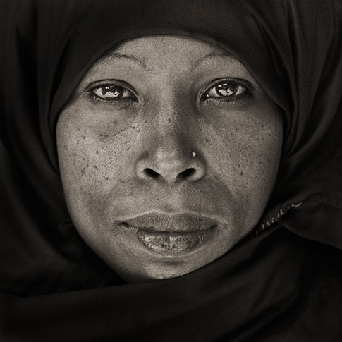 Traditional Woman from Lamu, Kenya, 1985 by Dana Gluckstein