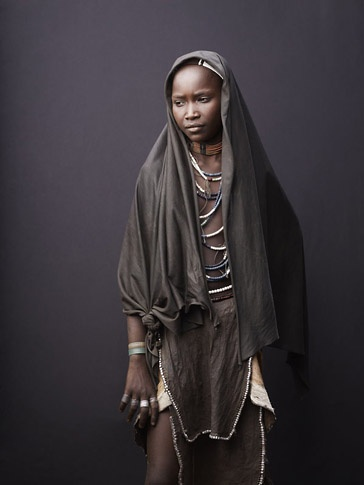 Study of Arbore Girl by Joey L.