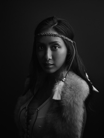"Steph as ""Pocahontas"" by Joey L."