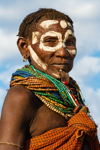 Portrait of a Nyangatom Woman by John Rowe