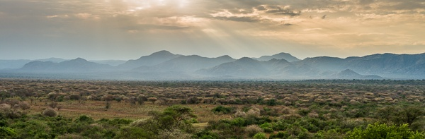 Omo Valley Landscape by John Rowe