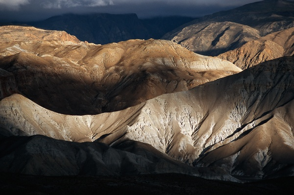 Lit Ridges, Route to Chö Dzong by Kenneth Parker