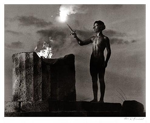 Olympia 1936 - Flame by Leni Riefenstahl