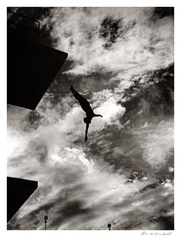 Olympia 1936 - High Dive by Leni Riefenstahl