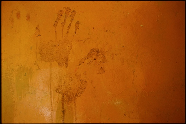 Monk Handprints by Marissa Roth
