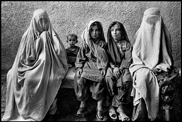 Afghan Women and Children Refugees by Marissa Roth