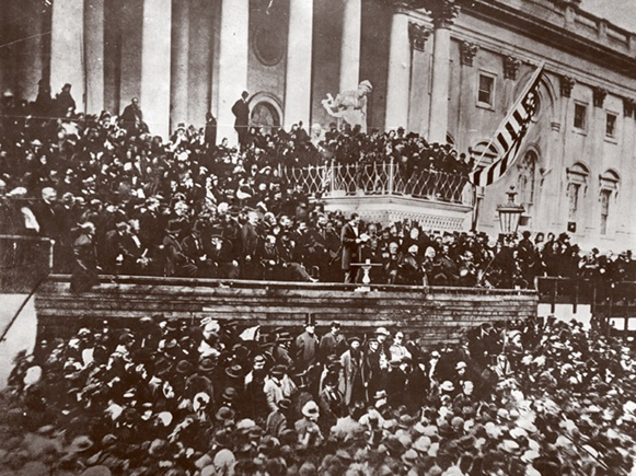 Lincoln Inauguration - 1865 by The New York Times Photo Archives