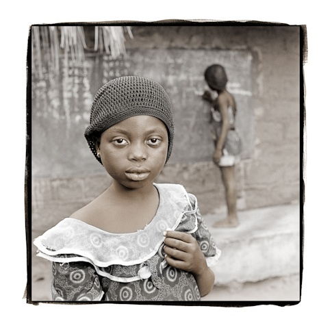Wouli, 7  Bowku Village, Ghana by Phil Borges