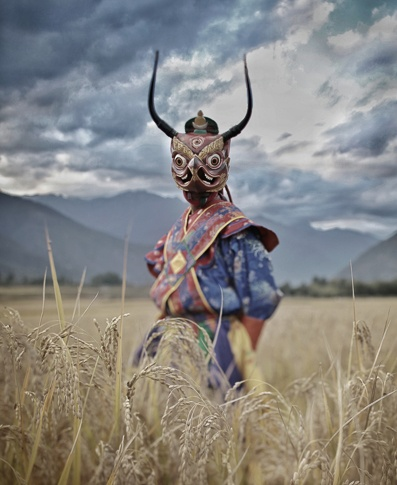 Mask#1, Bhutan by Chris Rainier