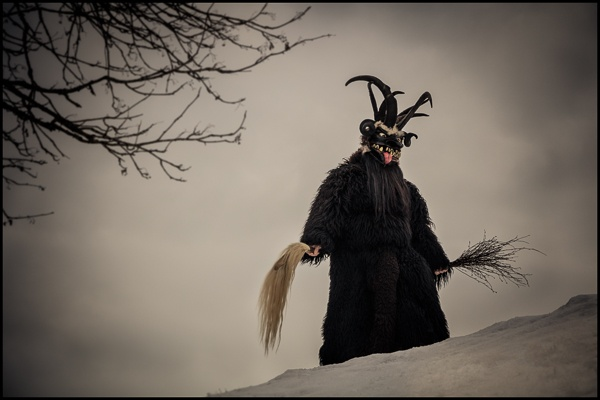Krampus Mask, Bad Hofgastein, Austria by Chris Rainier