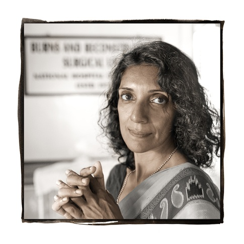 Dr. Chandini Perera, 46  Colombo, Sri Lanka by Phil Borges