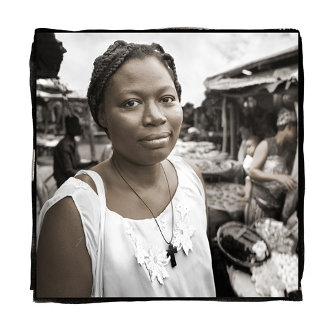 Rosaline, 35 Dogbo, Benin by Phil Borges