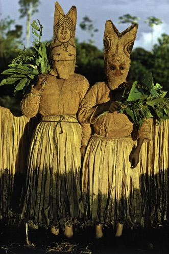 Makuna Fish Spirit Dancers by Thomas L. Kelly