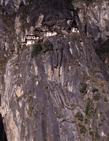 Taktsang Hermitage by Thomas L. Kelly