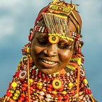 Turkana Girl, Kenya