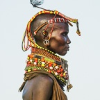 Turkana Female Elder, Kenya