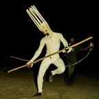 Leaping Lunar Mask, Burkina Faso