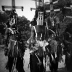 Dogon warrior dancers