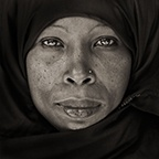 Traditional Woman from Lamu, Kenya, 1985