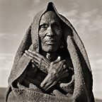 Masai Elder with Crossed Arms, Kenya, 1985