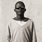 Herero Boy with Sunglasses, Kaokoland, Namibia, 2007, Triptych II