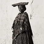 Herero Wife with Cow Horn Headdress, Kaokoland, Namibia, 2007