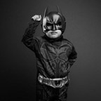 "Junior Paida as ""Batman"""