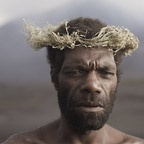Portrait of Kastom Man in Ash Plains