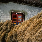 Barley Sheaves and Window, Ghemi