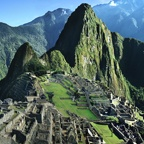 Machu Picchu, the Andes