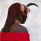 Morani in Red, Turkana