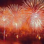 Fireworks over East River, 2003