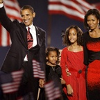 The First Family, Election Night 2008
