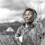 Tsend, 63, Tsaatan People, Tsaatan Camp, Mongolia