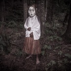 Wild Woman of the Forest Mask, Alert Bay, Canada