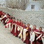 Child Monks, Kata Welcoming Line, Lo Montang