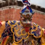 A Masked Dancer During the Second Day of the Teji Festival, Lo Montang
