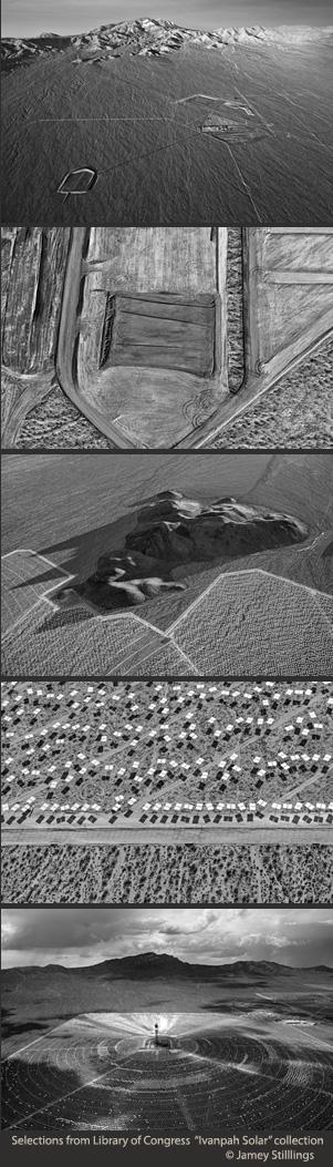 Jamey Stilllings images of Ivanpah Solar