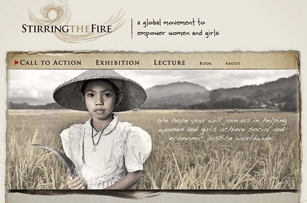 Stirring the Fire a global movement to empower women and girls