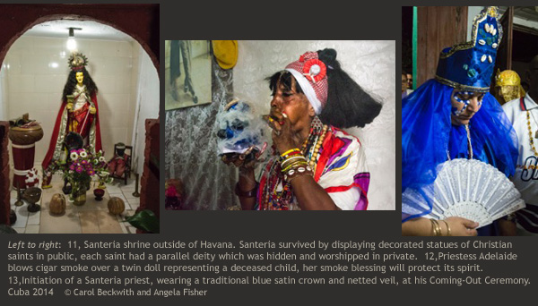 Voodoo Priest at Seko Healing Shrine, Togo by Beckwith & Fisher