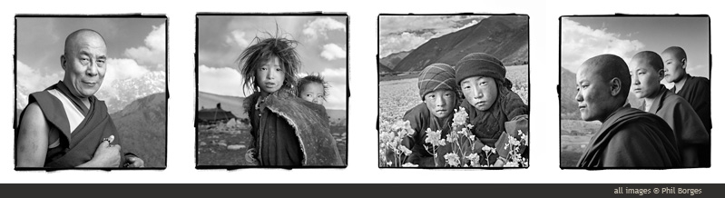 Phil Borges Tibetan Portraits Collection