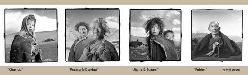 """""""Tibetan Portraits"""" by Phil Borges"""