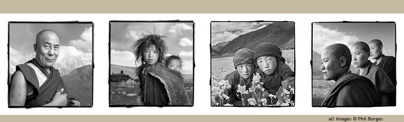 "Phil Borges ""Tibetan Portrait"" special collection"