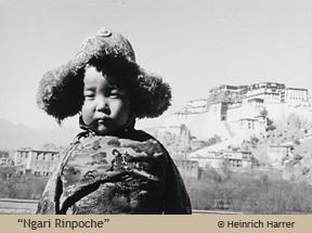 """""""Ngari Rinposche"""" by Heinrich Harrer"""