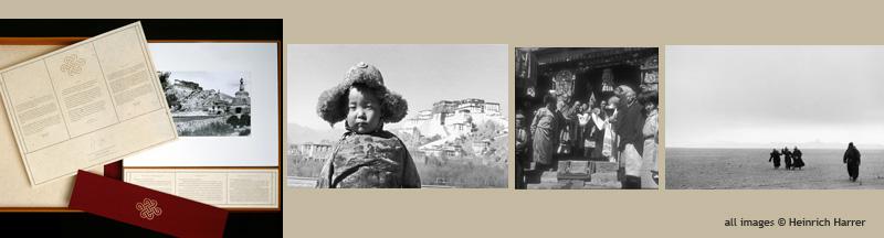 Heinrich Harrer limited edition Tibet Portfolio